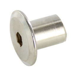 Joint Connector decorative nut (hexagonal hole)