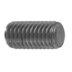 Hexagon Socket Set Screw, Flat Tip, by Ansco