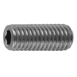 Hexagon Socket Set Screw, Indented Tip, by Asahi Seimitsu Kogyo Co., Ltd.