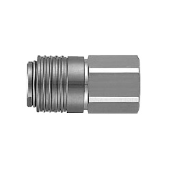 S Coupler Stainless Steel KKA Series, Socket (S) Female Thread Type