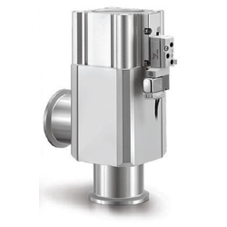 Aluminum High Vacuum Angle Valves, Normally Closed, Bellows Seal, XLAV Series