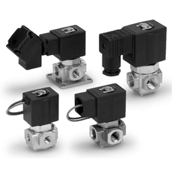 Direct Operated 3 Port Solenoid Valve VXV31/VXV32/VXV33 Series (For Vacuum Pads / Single Unit)