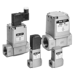 Process Valve, 2 Port Valve For Compressed Air And Air-Hydro Circuit Control VNA Series