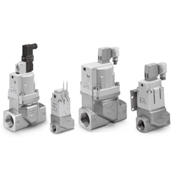 Coolant Valve SGC Series, External Pilot Solenoid Valve, Air Operated Type