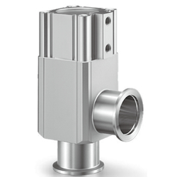 Aluminum High Vacuum Angle Valves, Double Acting, O-Ring Seal, XLG Series