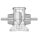 Warner Series Butt Shaft Type Clutch Unit