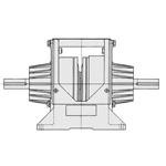 Permanent Series Butt Shaft Type Clutch/Brake Unit