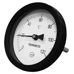 Saucer planning T type bimetal thermometer