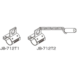 Pipe Frame Hand Truck Connecting Element, JB-712T1/JB-712T2