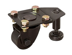 Low-Floor Caster (MC Nylon Wheel) With Independent Adjuster