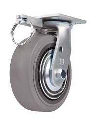 Heavy Load Caster (Rubber Wheels), Independent