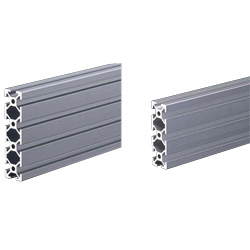 Aluminum Structural Materials SF20 6 mm Groove Width Type SF-20/60/FS-20/80