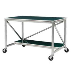 Workbench A with Shelf, High Rigidity for Mobile Work
