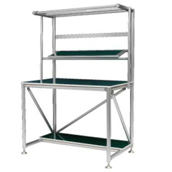 Workbench B with Shelf High Rigidity Type for Standing Work