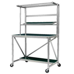 Workbench B with Shelf High Rigidity Type for Mobile Work