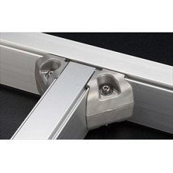 ZF Series Aluminum Structural Materials For Frames Corner Joint H