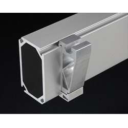 ZF Series Aluminum Structural Materials For Frames T Slot Side