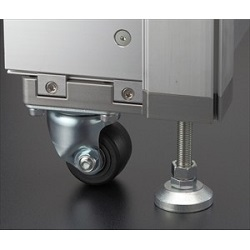ZF Series Aluminum Structural Materials For Frames Adjuster and Caster Kit