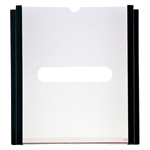Large Plastic Card Holder C-26-Vertical-D