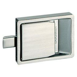 Stainless-Steel Flush Latch Lock C-1177
