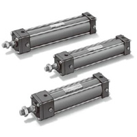 Strong pneumatic cylinder 10A-3 series