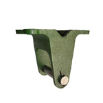 Ductile Caster Standard Type Fixed Bracket K