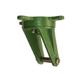 Ductile Caster for Tow Vehicle Freely Adjustable Bracket SR
