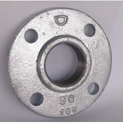Cast Iron Alloy Flange 10K White