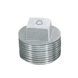 Pipe Fittings - Plug - Plated