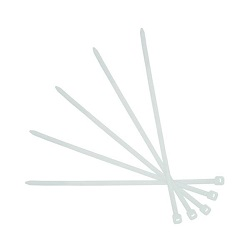 Cable Ties (White) 100 Pieces