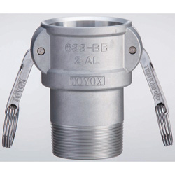Cam-Lock 633 Series Coupler 633-BB Male Screw