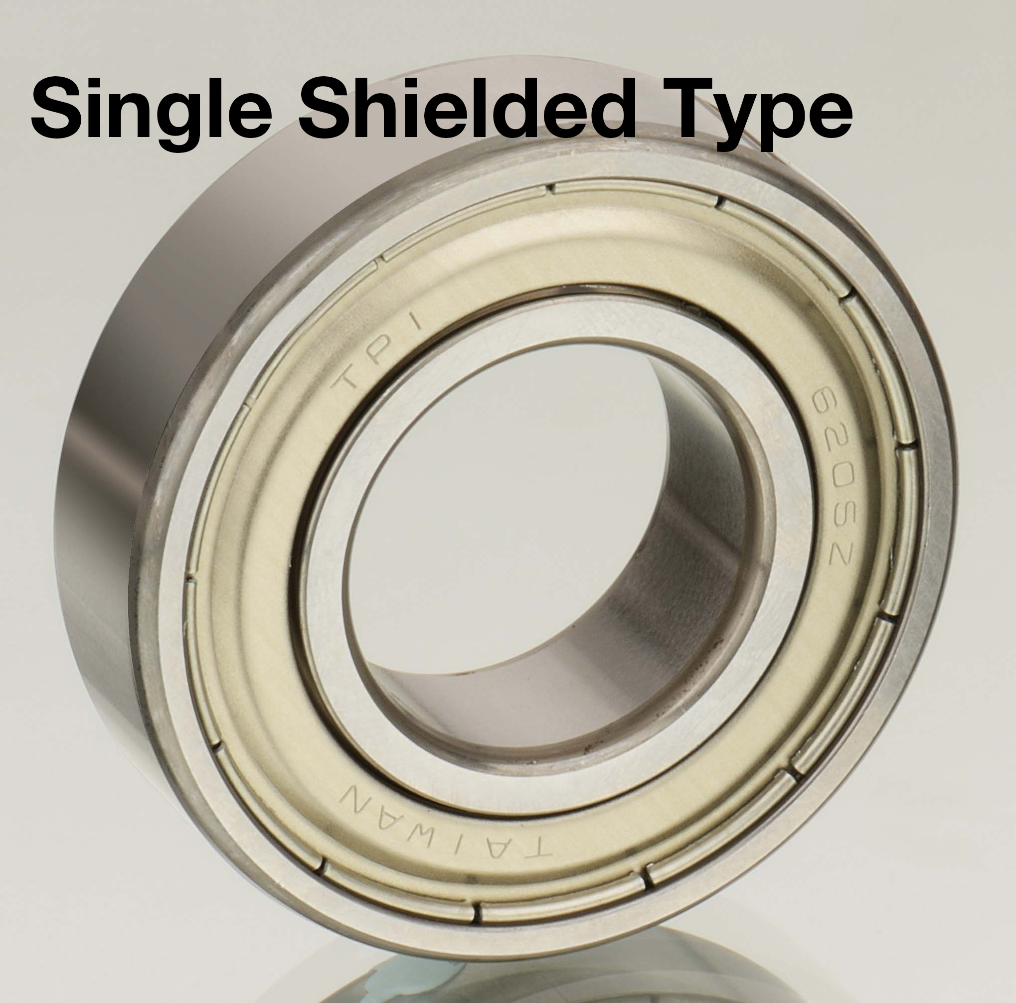 Single-row Deep Groove Ball Bearings-Single Shielded Type