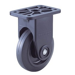 Low-Noise Casters Nylon Wheels Rubber Wheels Fixed
