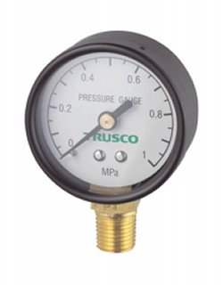 TRUSCO pressure gaugeupright type