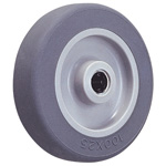 Wheels for Dedicated Caster E Series - Elastomer Wheels for Light Load E-TB (GOLD CASTER)