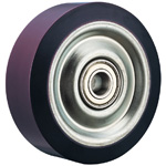 Wheel for Dedicated Caster E Series, Heavy Duty Urethane Wheel, H-UB (GOLD CASTER)