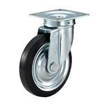 Pressed Caster, Swivel Axle, Low Cost Type