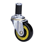Conductive Type 200E Caster Model Conductive Axle Synthetic Rubber Wheels (Packing Caster)