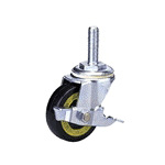 Synthetic Rubber Wheel (Packing Caster) with Conductive Type 300 Es Bolt Type Electric Vehicle Stopper