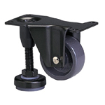 Function Type 600AF-N Fixed Type Nylon Wheel (Packing Caster) with Adjuster Foot