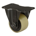 Heavy Class 600HB-PA Fixed Type PA Polyurethane Wheel (Color) (Packing Caster) with Roller Bearings for Heavy Loads