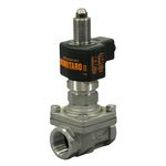 PS-25C Type Solenoid Valve (for Steam, Liquids and Air) Stainless Steel Momotaro II