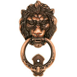 Arabesque Lion Knocker