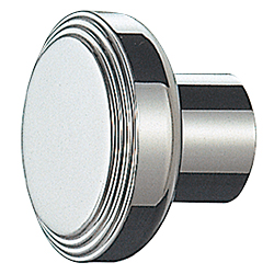 Stainless Steel Almond Knob ST-77