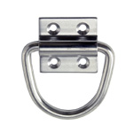 Stainless Steel D-Shaped Hanging Ring