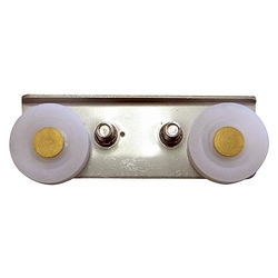 Sash door roller for screen window