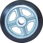 Medium Duty Rubber Wheel (SA Type) Without Bearings