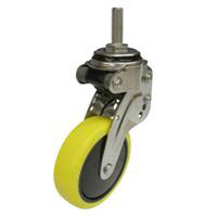 NPT Type Free Wheel Screw-in Type, Anti-Static Urethane Foam Wheel