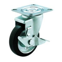SJ-S Type Free Wheel Plate Type (with Stopper)