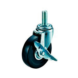 ET-S Model Swivel Wheel Screw-In Type (With Stopper)